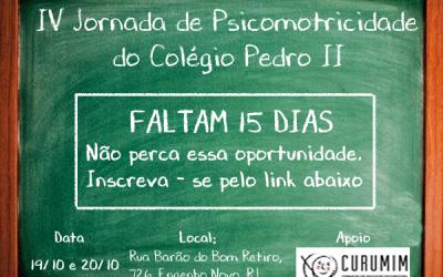 IV Jornada de Psicomotricidade do Colégio Pedro II